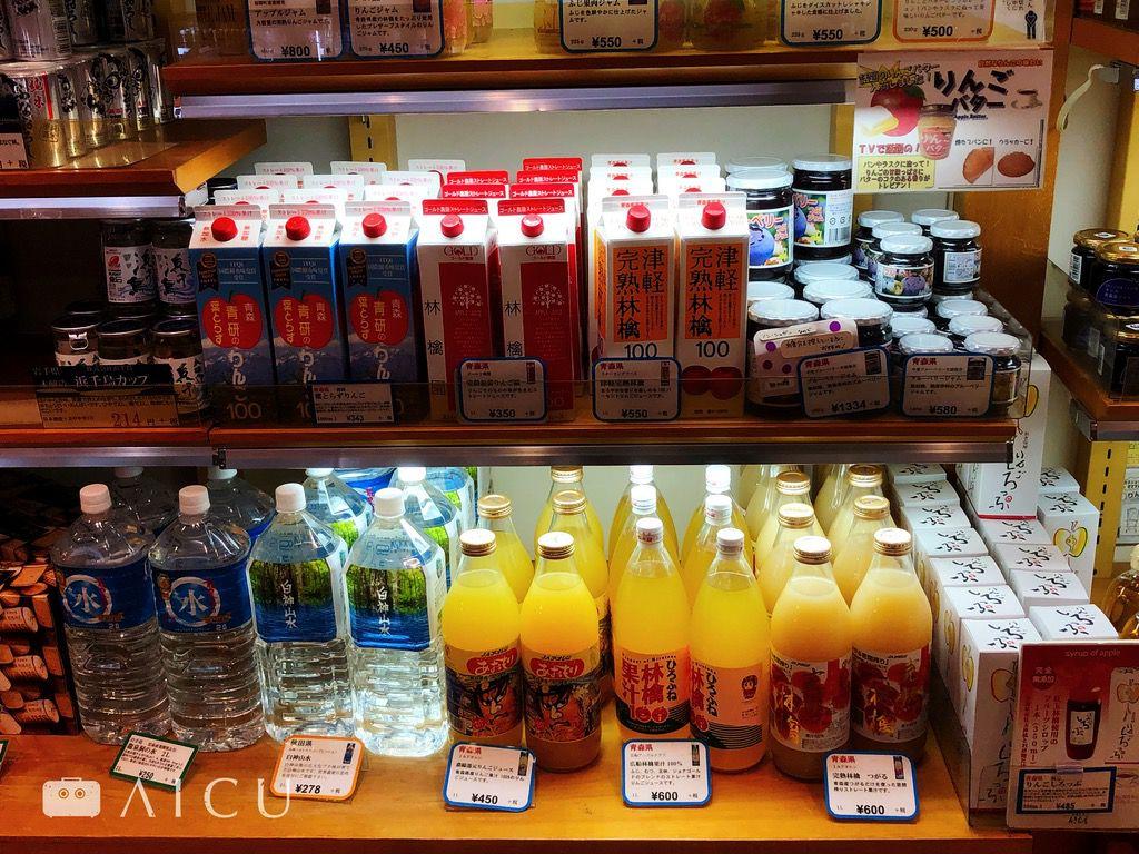 這是另外在福岡遇到的東北特產館(青森&岩手&盛岡),滿滿的各種蘋果汁,而且相對台灣價格好便宜啊。