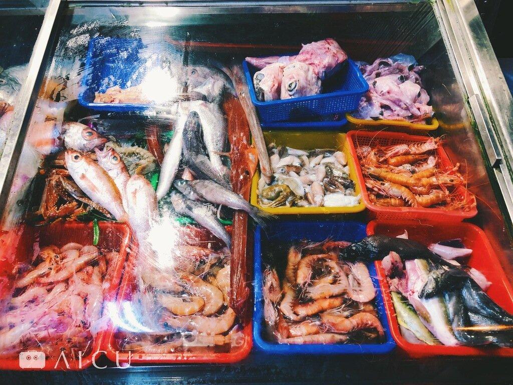 吃海鮮是訓練眼力和考驗知識的過程。