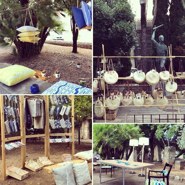 The artesan market is on right now at the Joan Match Gardens outside the Claustre in Pollensa. Great opportunity to see what talented crafts people of Mallorca are creating #shoplocal #artesan #unanitdestiu @artesanspollensa