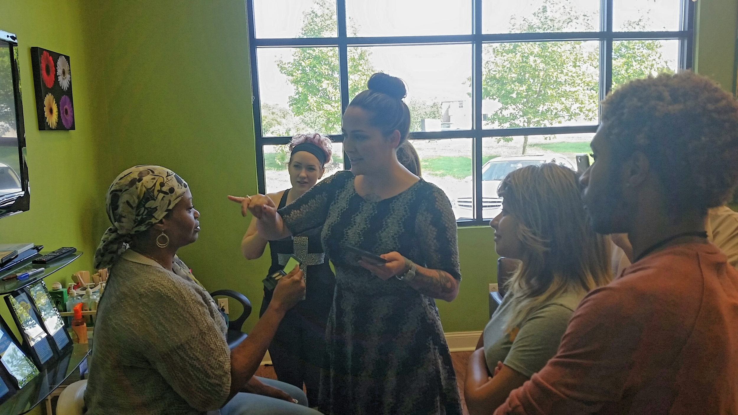 The Balance Hair Spa staff is trained how to acheive the perfect eyebrow for all face shapes.
