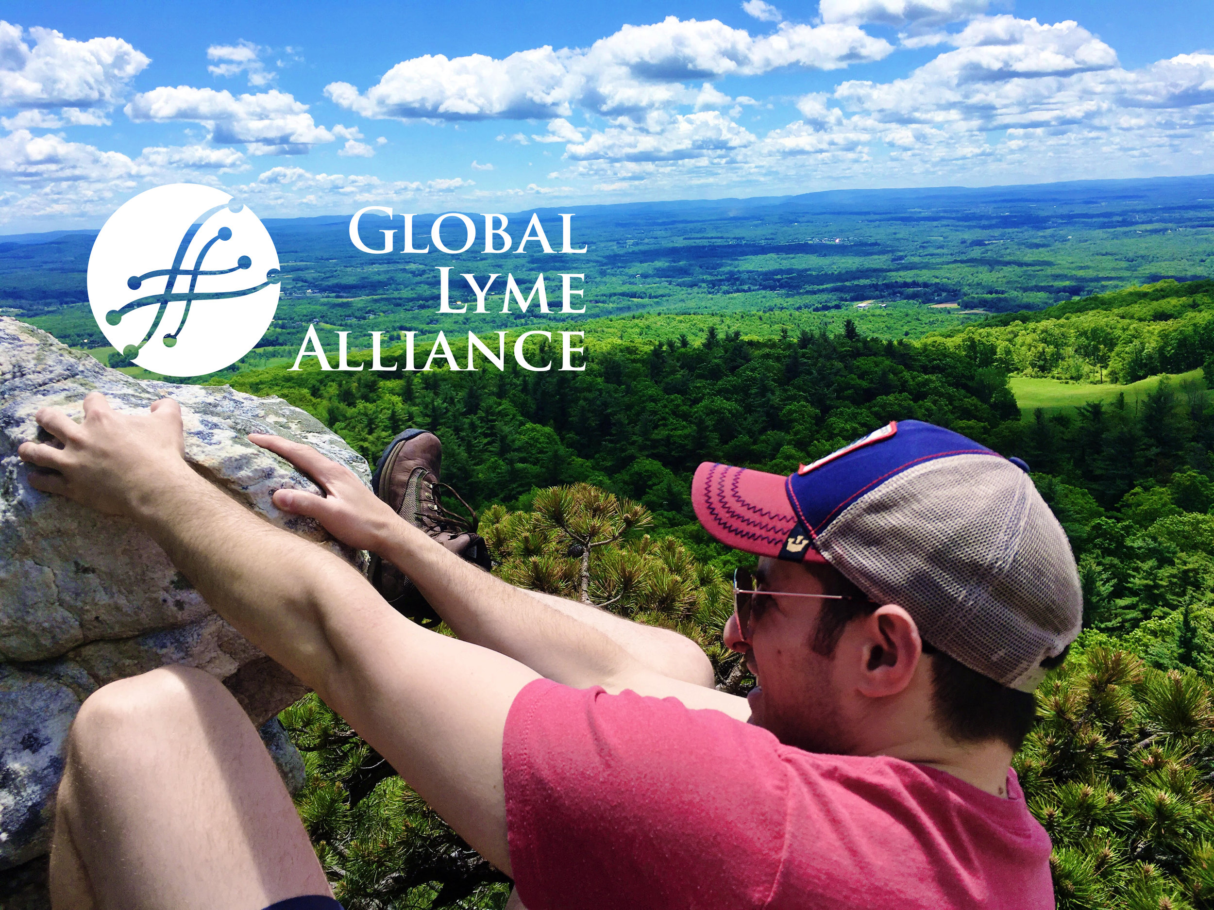 Co-founder, Julian Lesser, climbing at Mohonk Mountain.