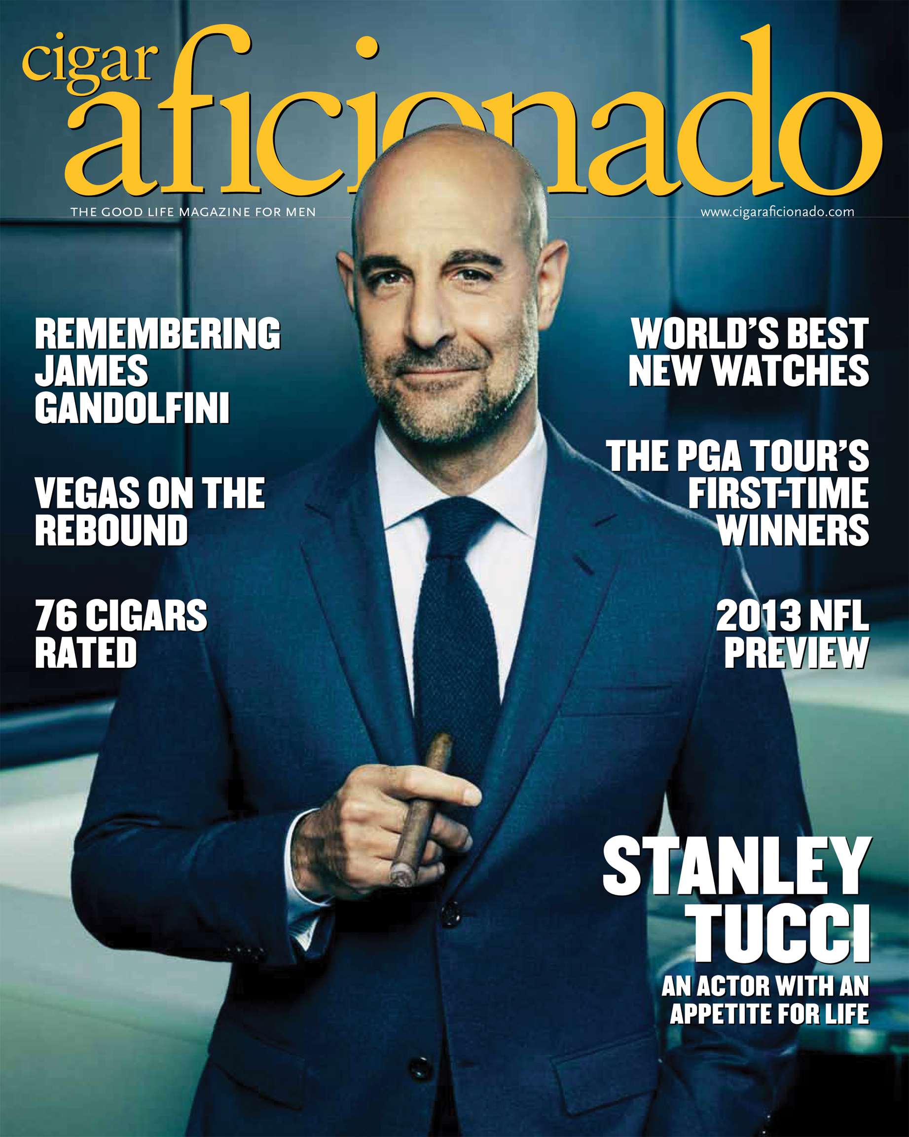 Cigar Aficionado September 2013