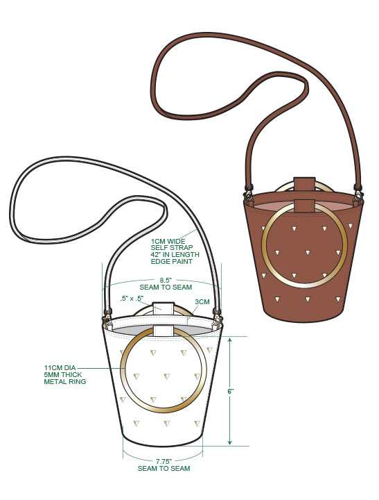 TREND BUCKET BAG