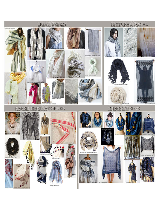 SUMMER SCARVES TREND BOARD