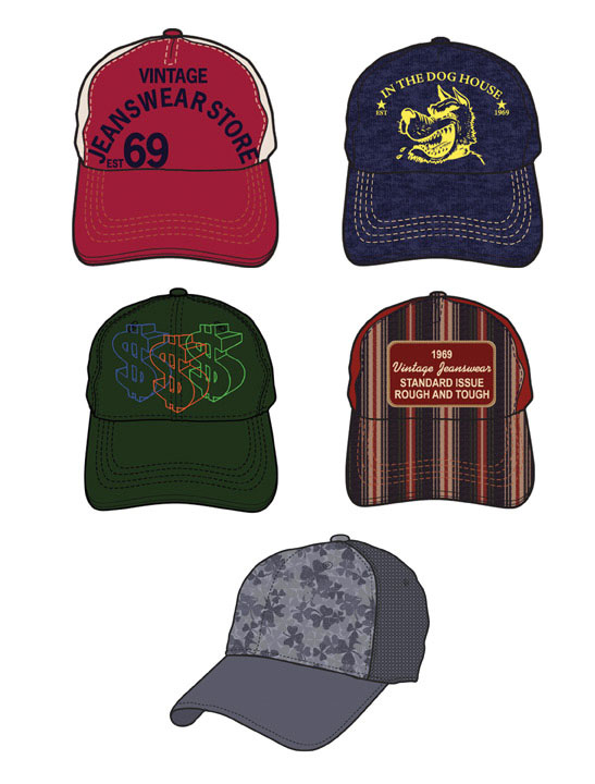 MENS HAT GRAPHICS