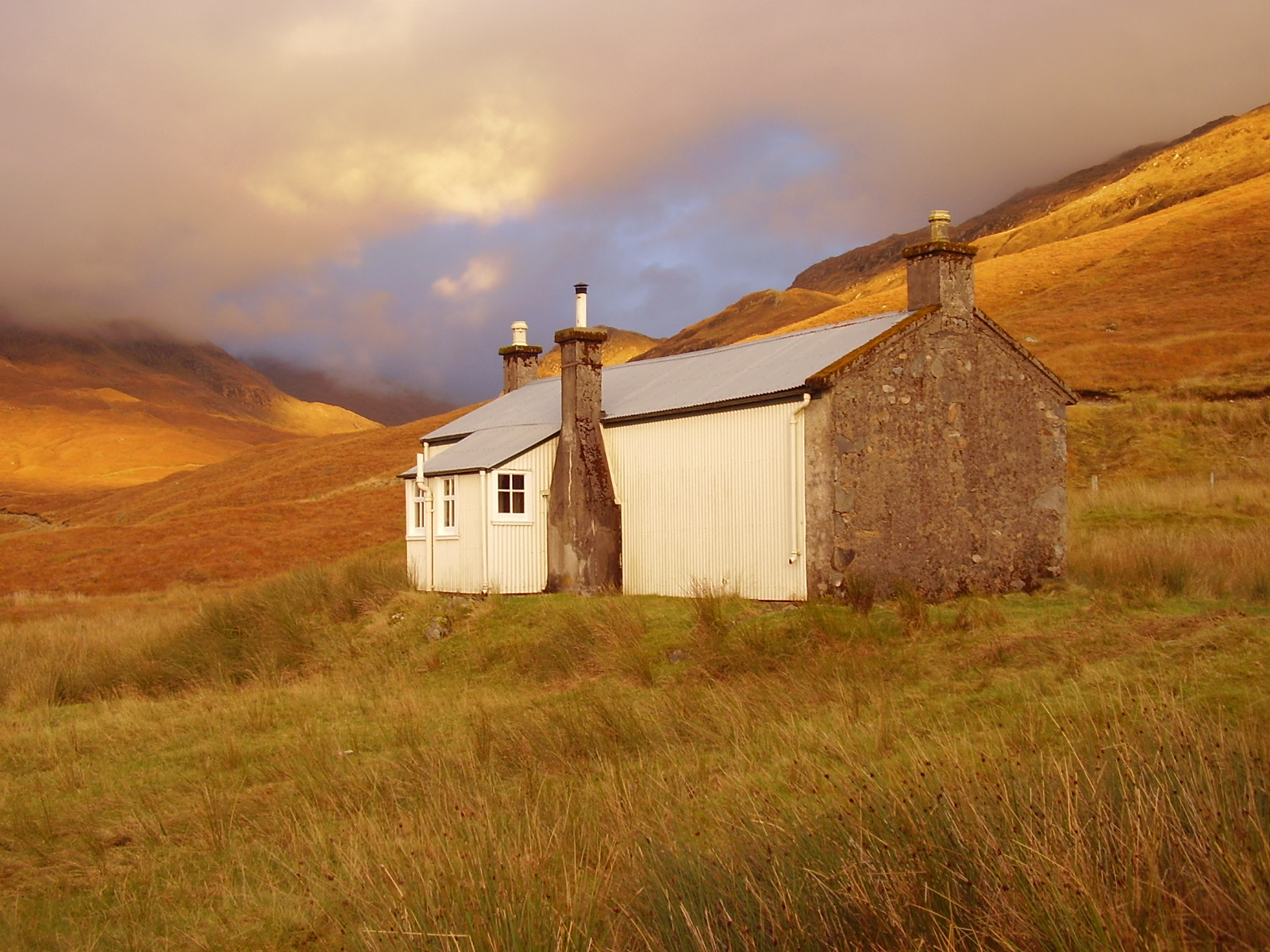 Beinn Dronaig Lodge and Bothy are 8 miles up the track