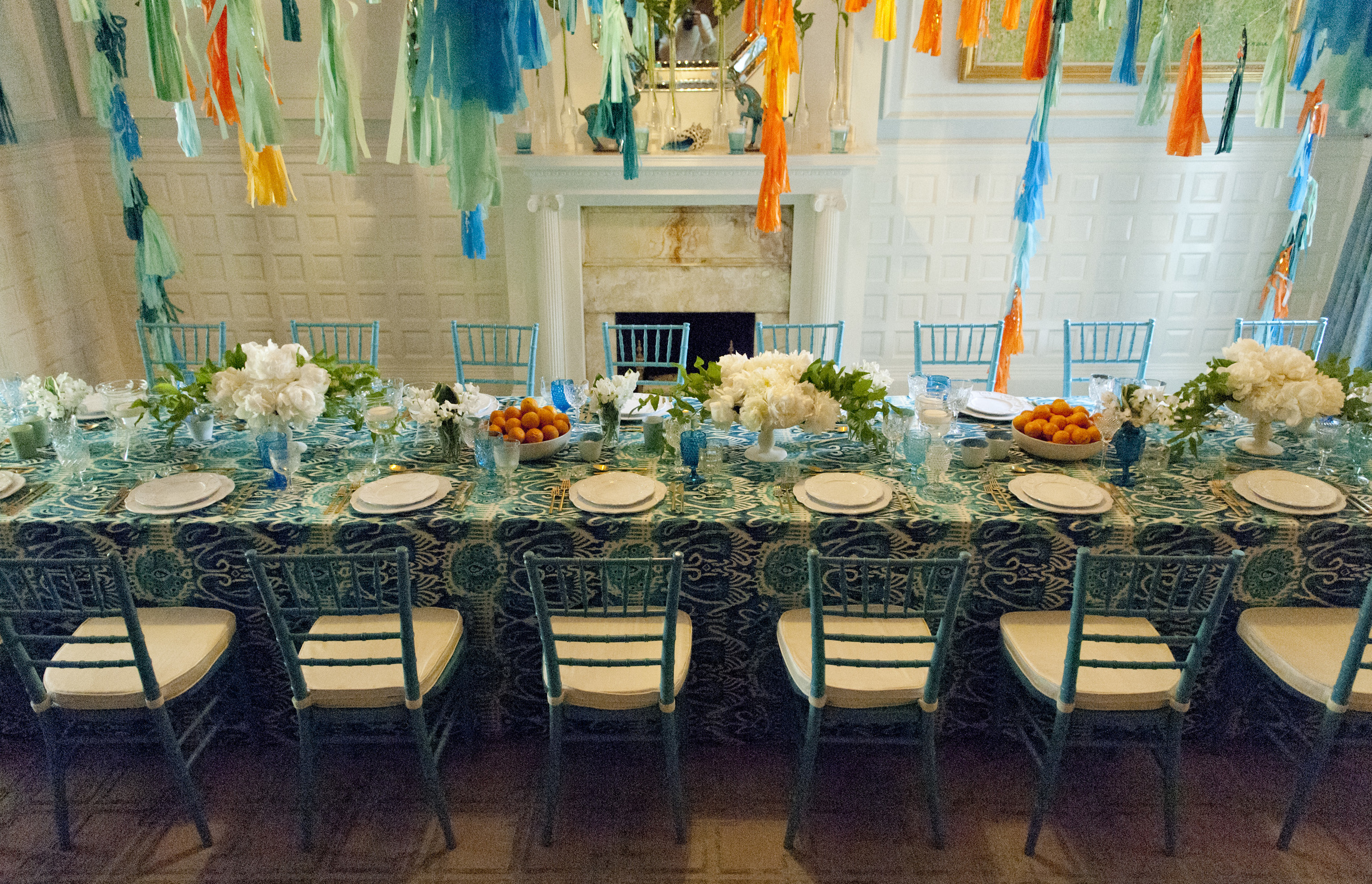 Boston party planner: Jen Hawkins Events. Beacon Hill birthday celebration.