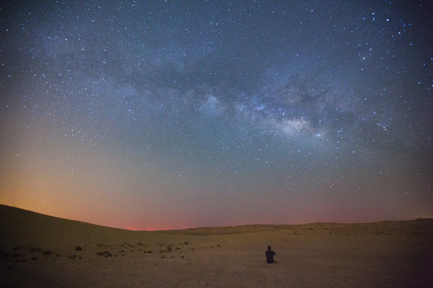 Nothing to make you realise how small you are like sitting beneath the Milky Way.