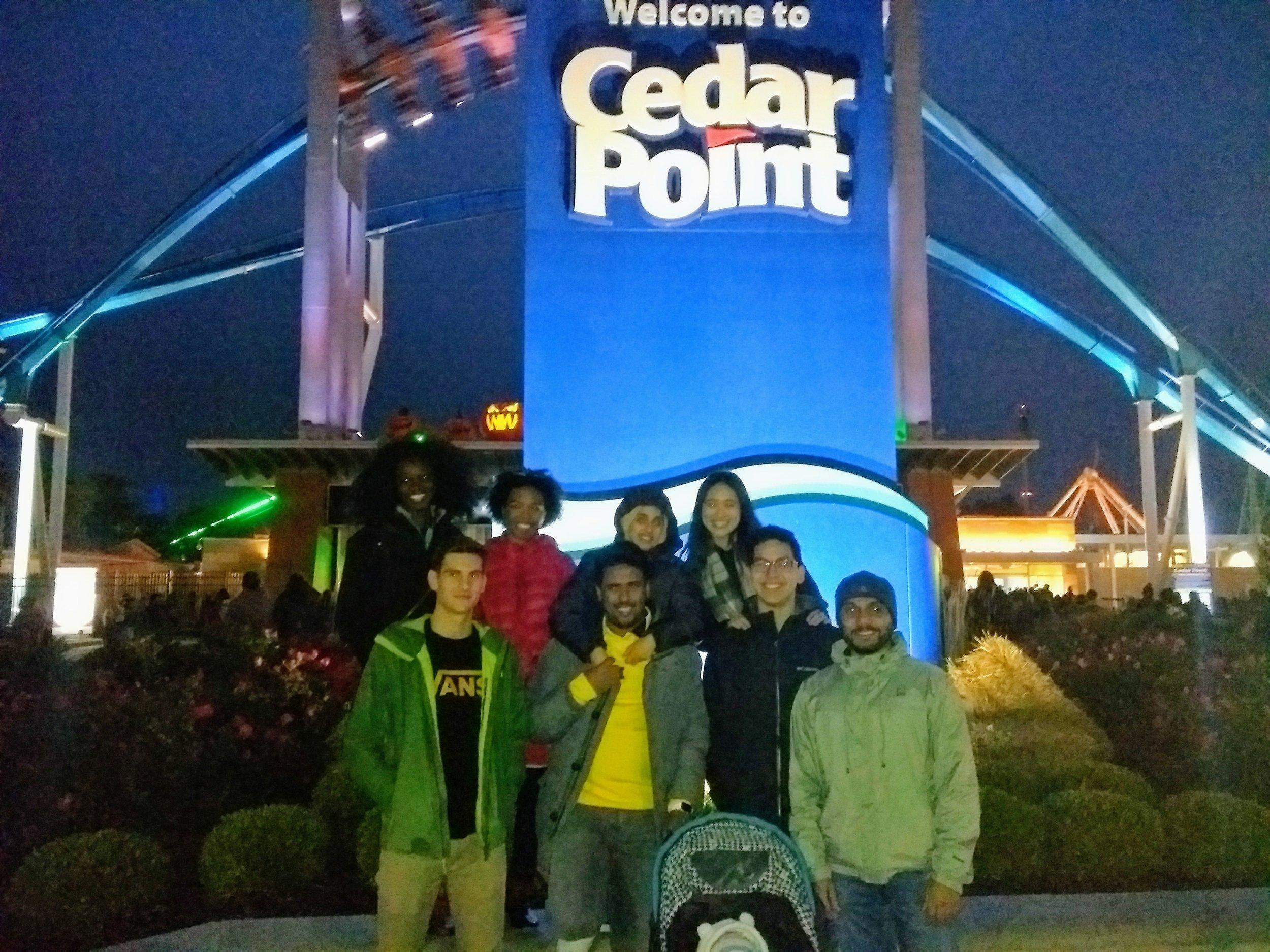 House trip to Cedar Point