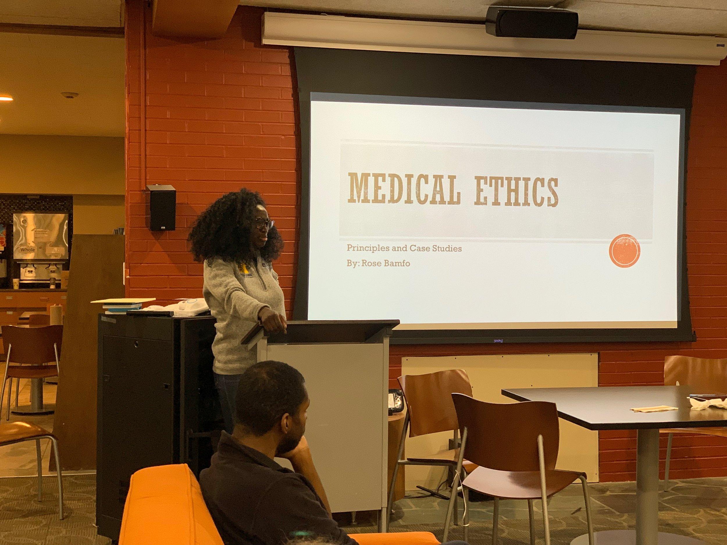 Medical Ethics: Principals & Case Studies