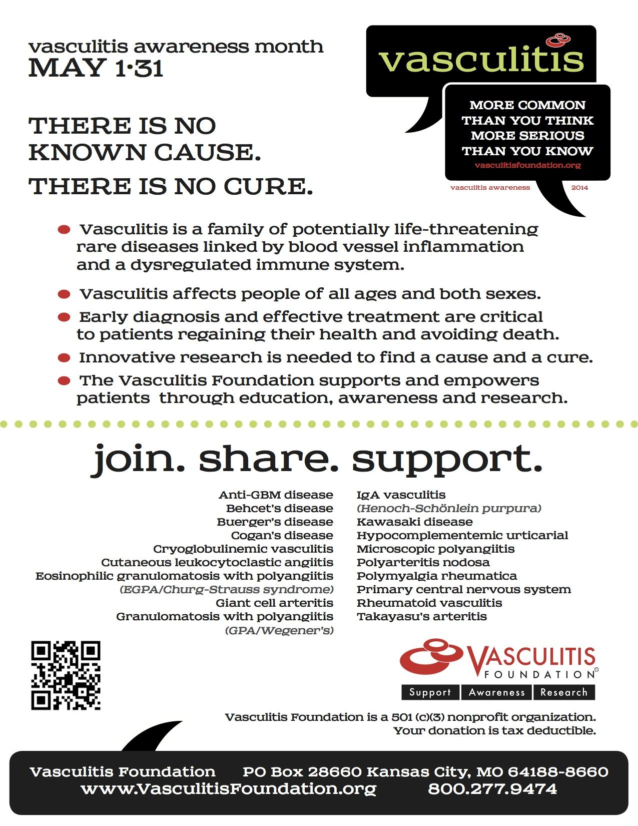 Vasculitis Awareness Month