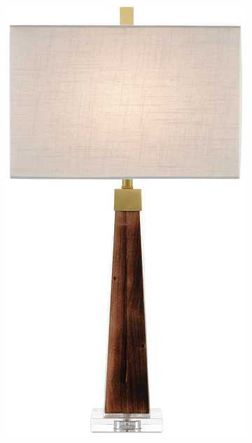 Ryland Table Lamp - This groovy lamp is incredibly versatile - We love it's obelisk-like body and midcentury style.