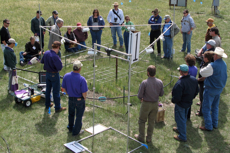 PHACE experimental set-up outside of Cheyenne, WY