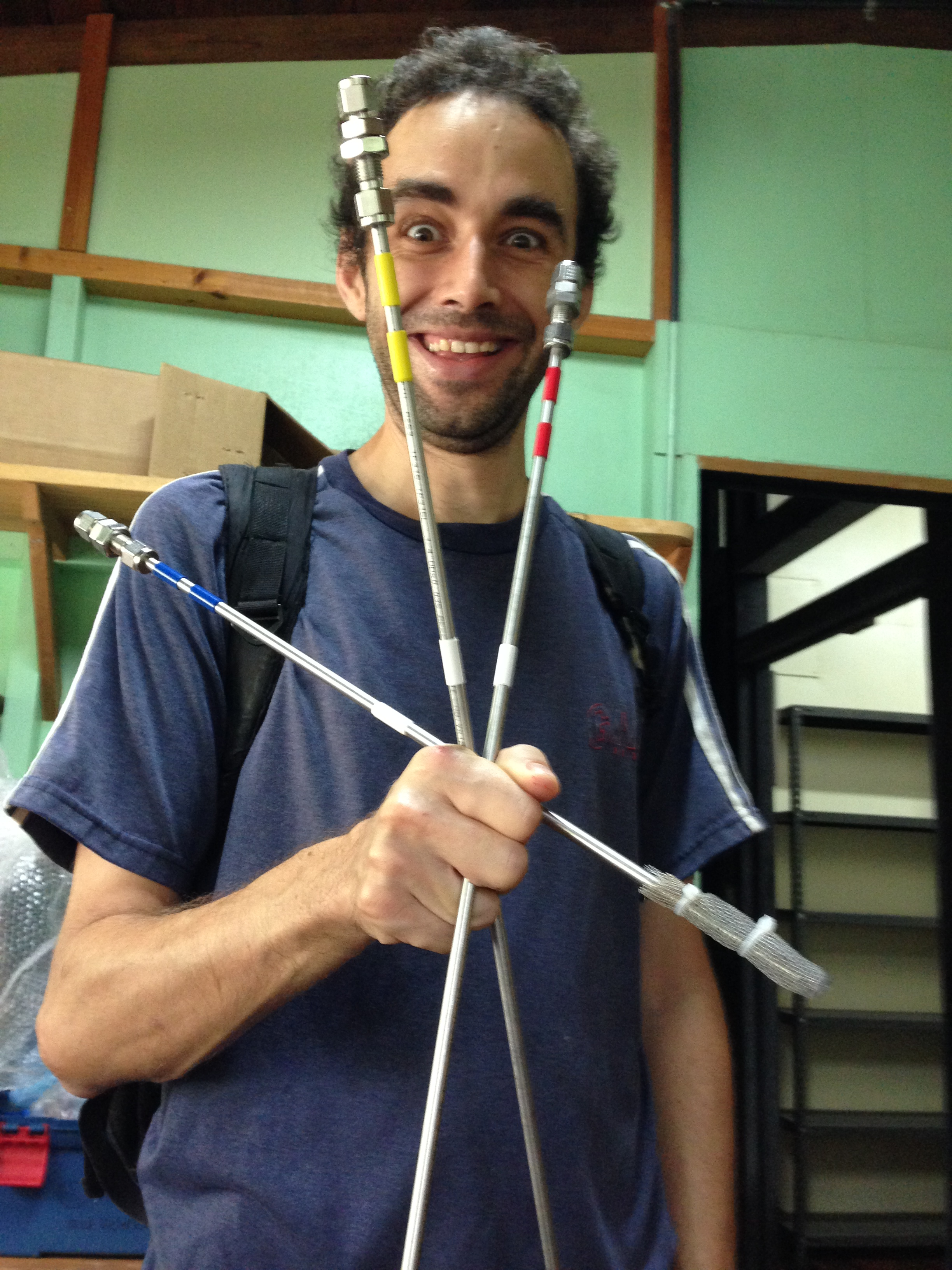 Dr. Diego Dierick, Florida International University  Diego is our man on the ground. He is the project McGyver, capable of fashioning a functioning soil respiration system to rival any LiCor set up using just a couple of Heliconia leaves, some string, and used bicycle tires. He is interested in everything!