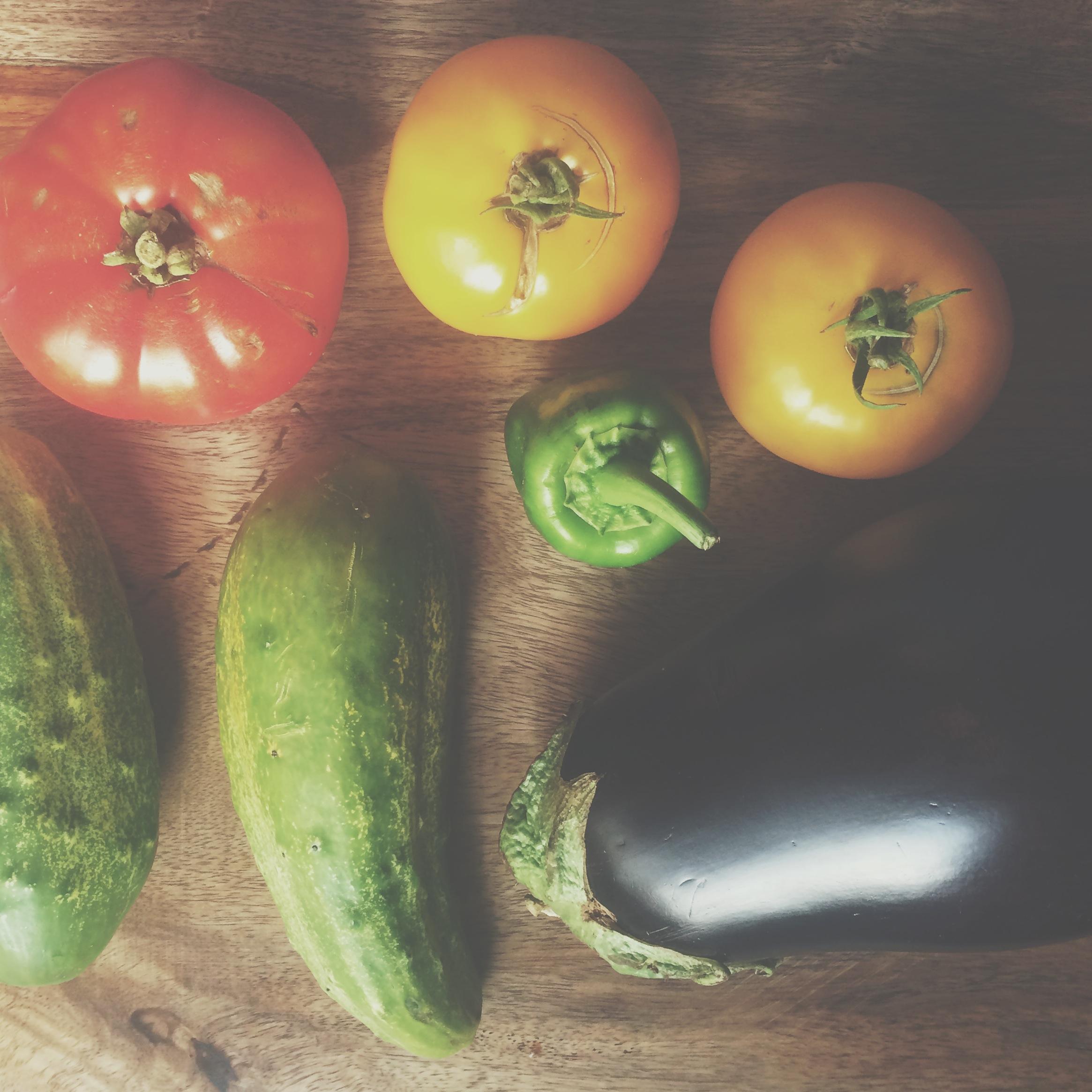 Our friend, the farmer's, produce
