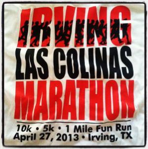 Inaugural Irving Marathon 2013