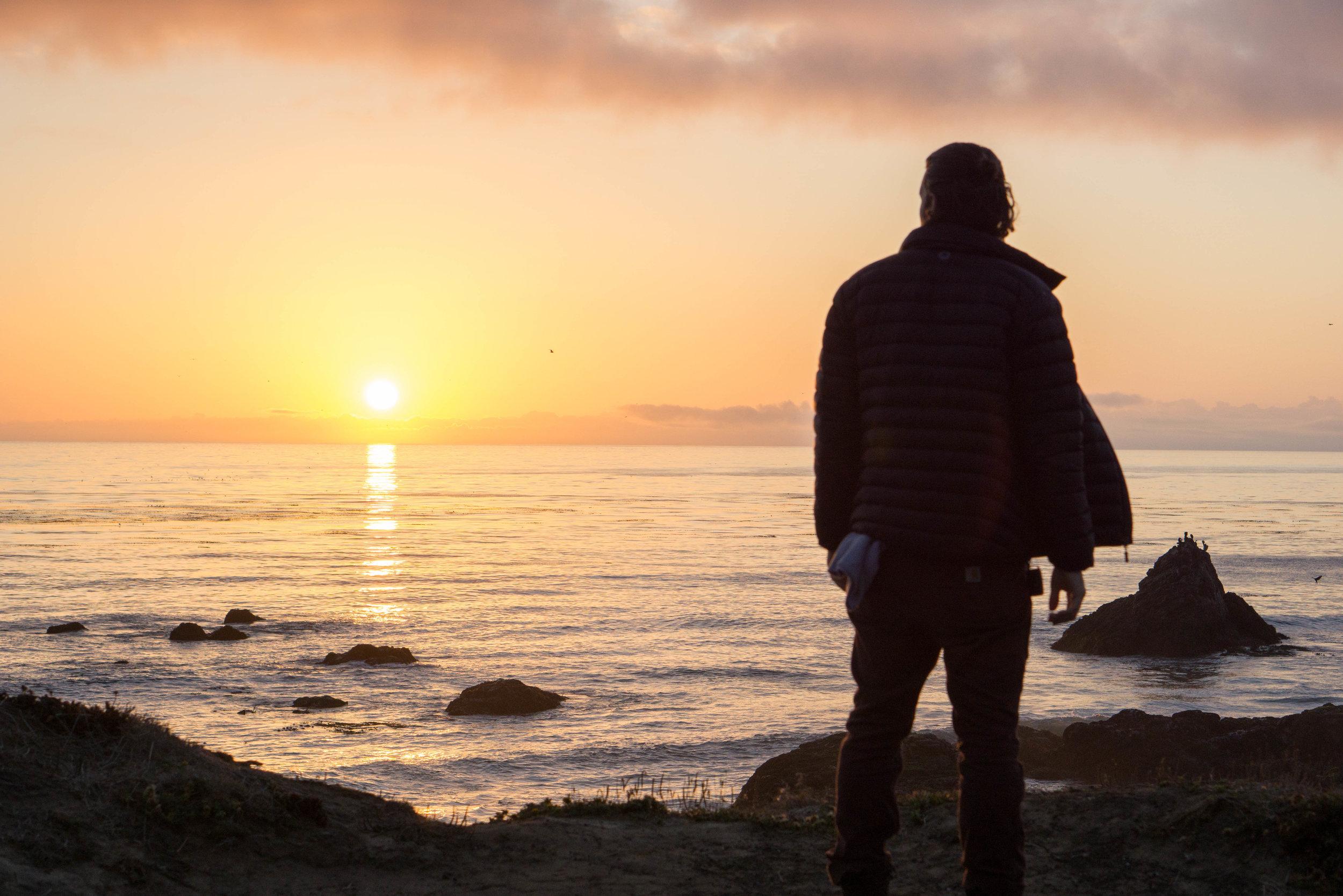 alex sunset san simeon 40 hours of freedom