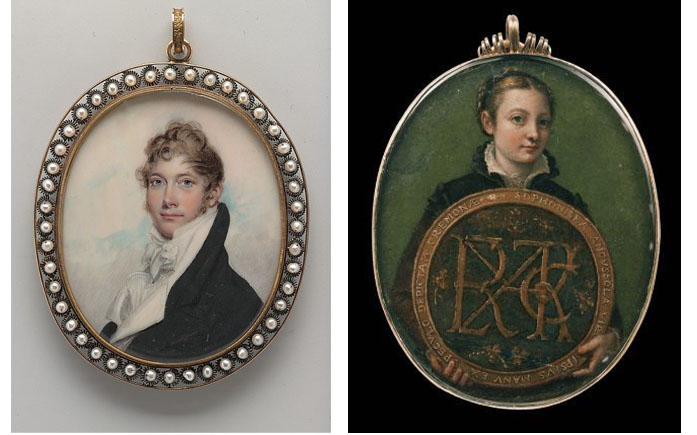 Metropolitan Museum of Art Portrait Miniatures