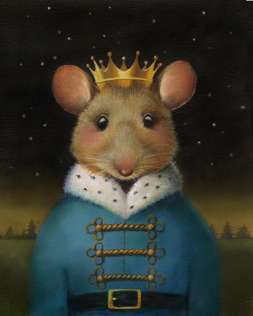 The Mouse King - final portrait.