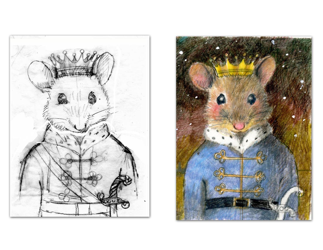 The Mouse King Final Sketches