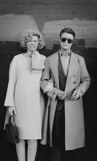 Bowie and Tilda Swinton switching roles.