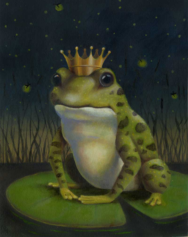 The Frog Prince final painting