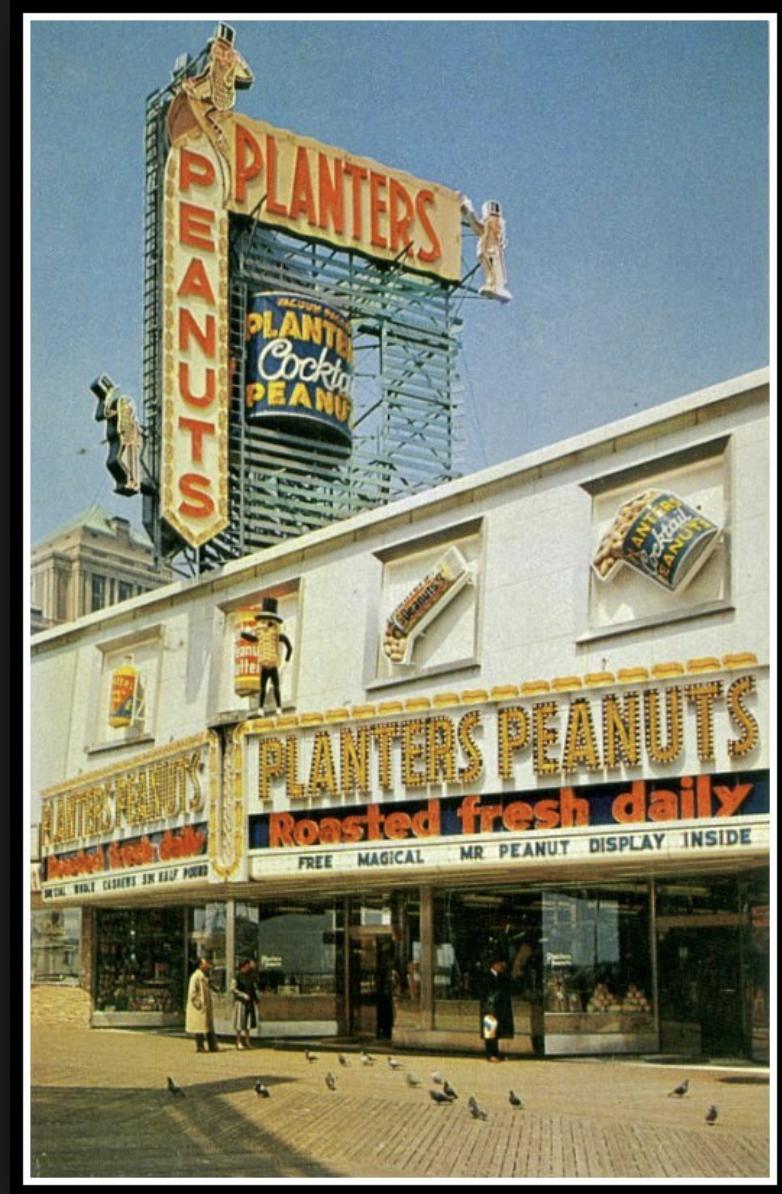 Planters Peanuts Atlantic City