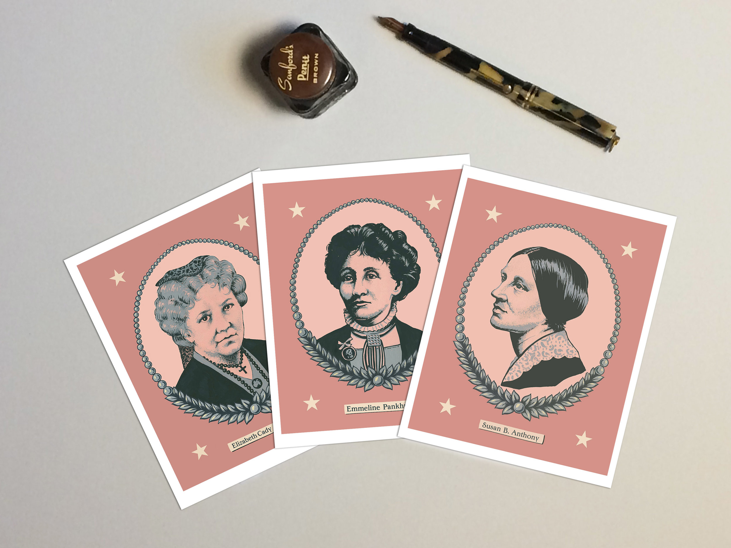 Suffragette Cards