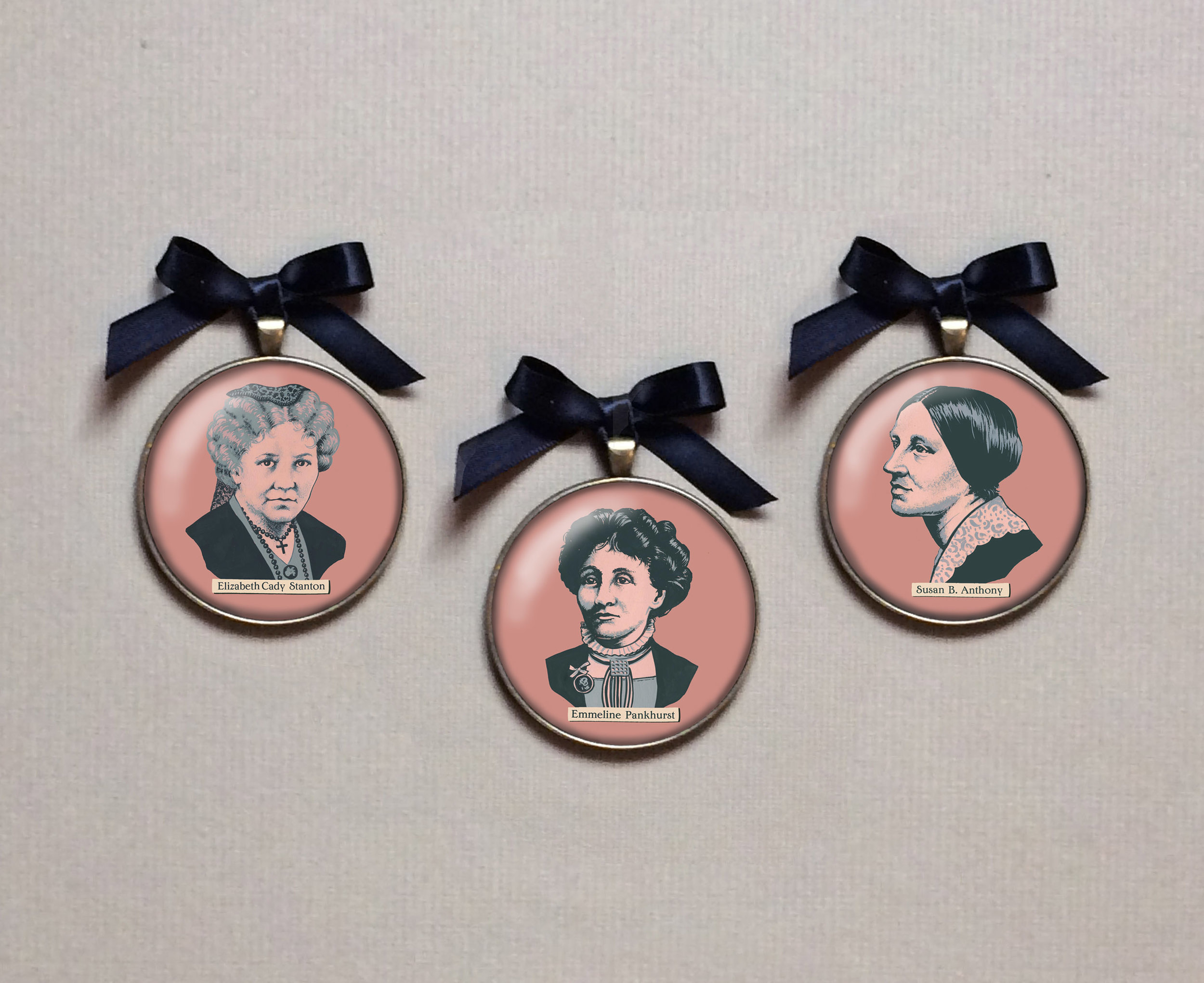 Suffragette Portrait Miniatures