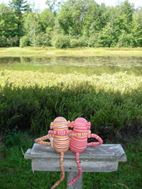 Sometimes Watermelon can convince Madison to forget her chores, and remember why they love their little cabin in the woods....