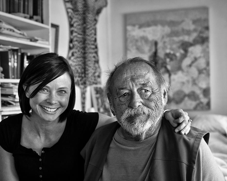 Kelly Kramer & Jim Harrison, Patagonia, Arizona 2012