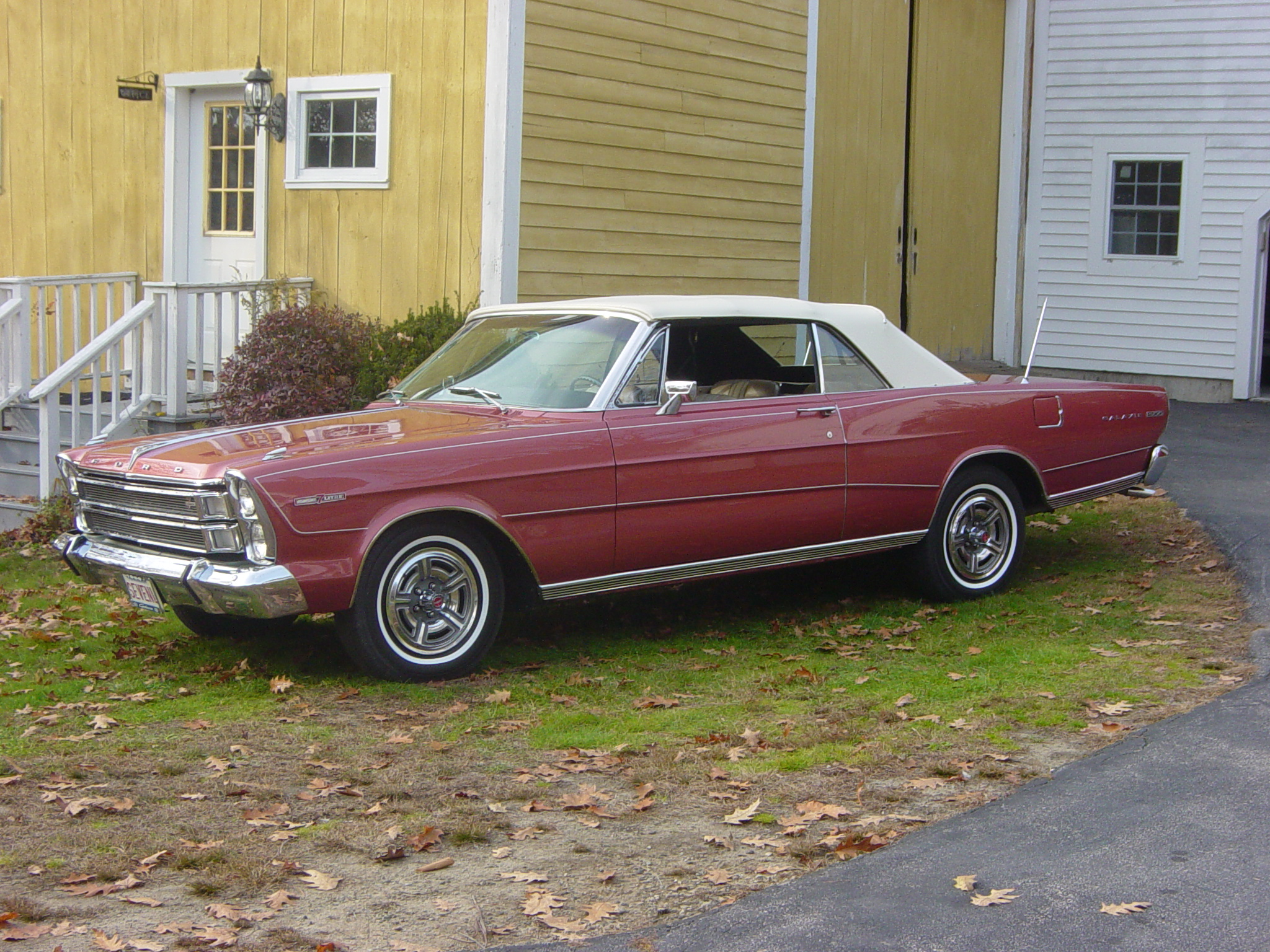66 Galaxie 7-Litre Convertible
