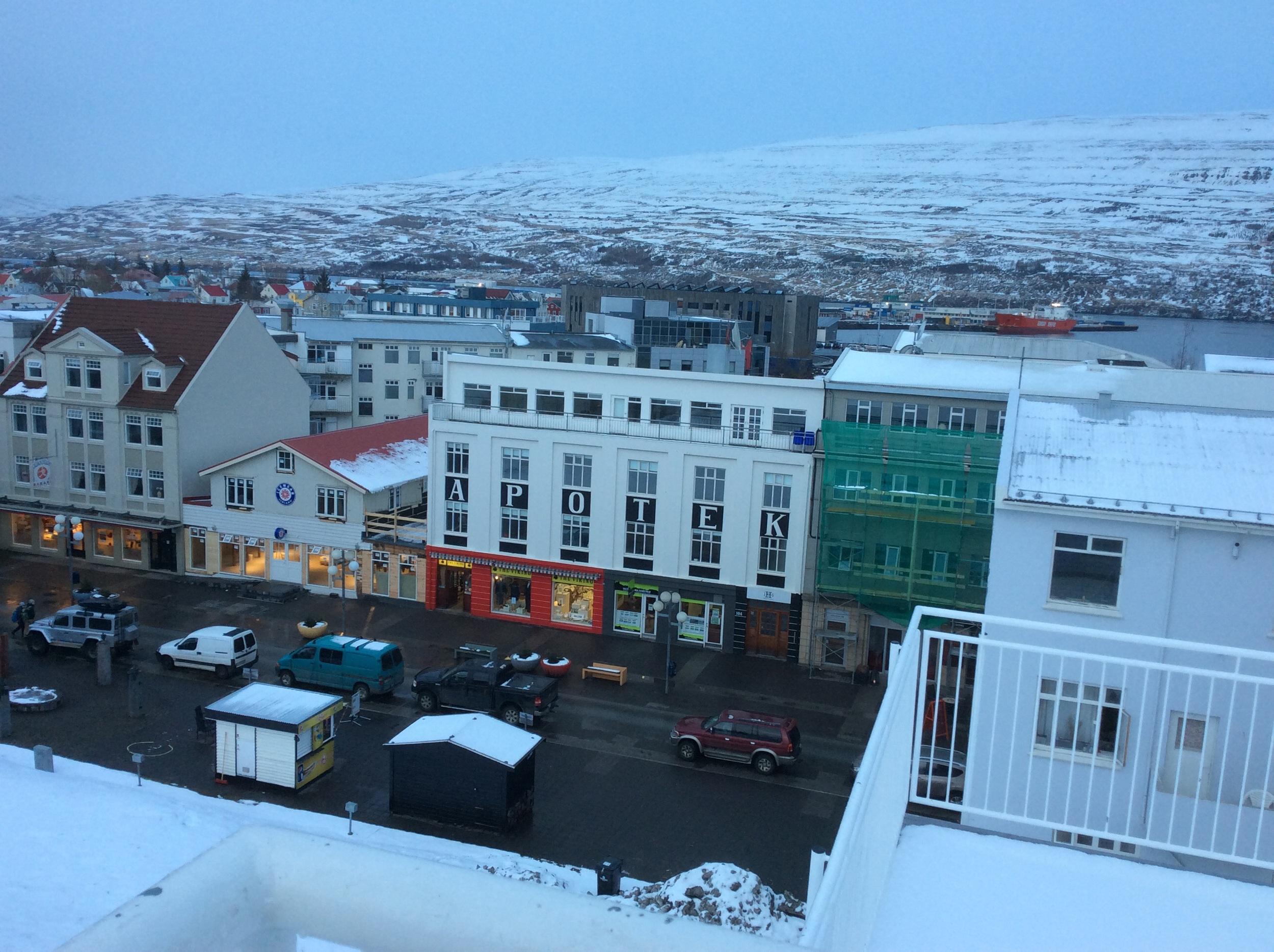 View over Akureyri