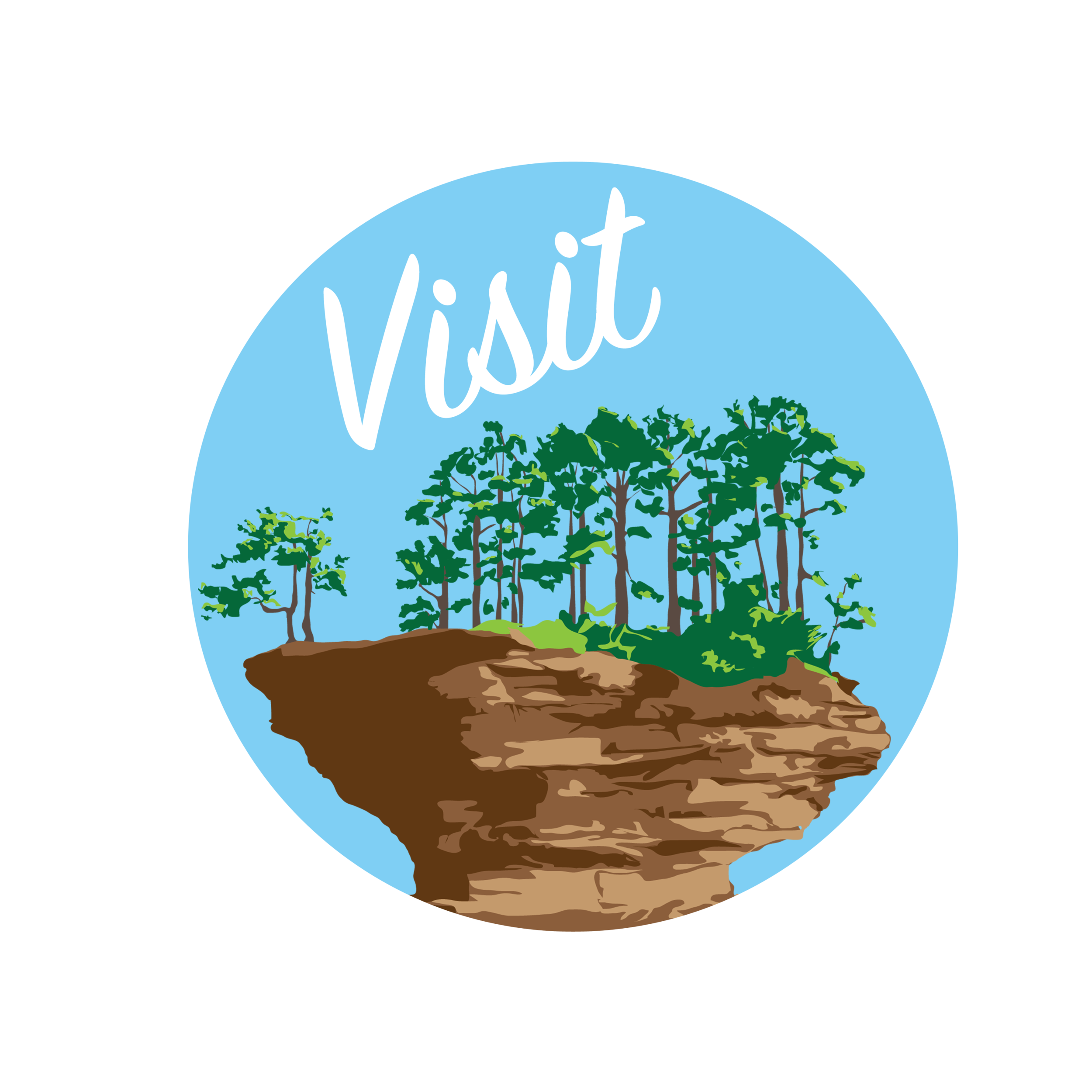 Visit Turnip Rock Button