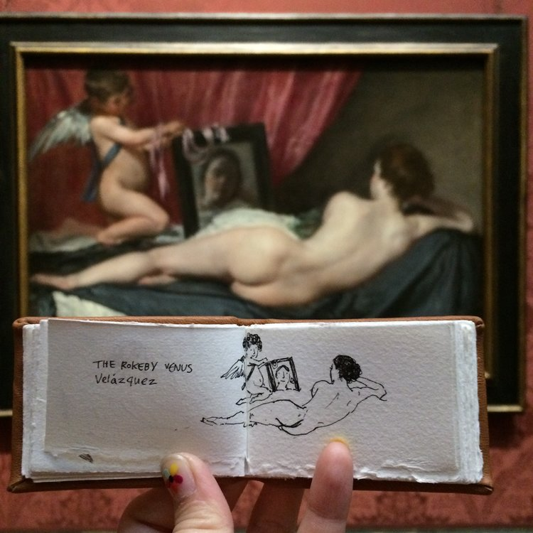 Museum Ladies: National Gallery, UK