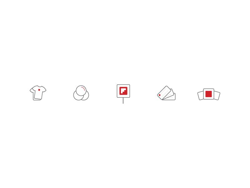 Flipboard Icons