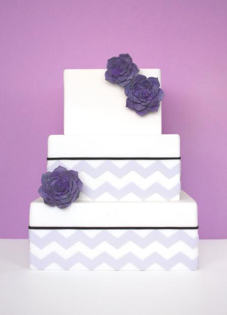 eatcakebemerry_purple_chevron_succulent_cake.jpg