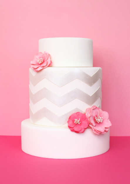 eatcakebemerry_pink_silver_chevron_cake.jpg