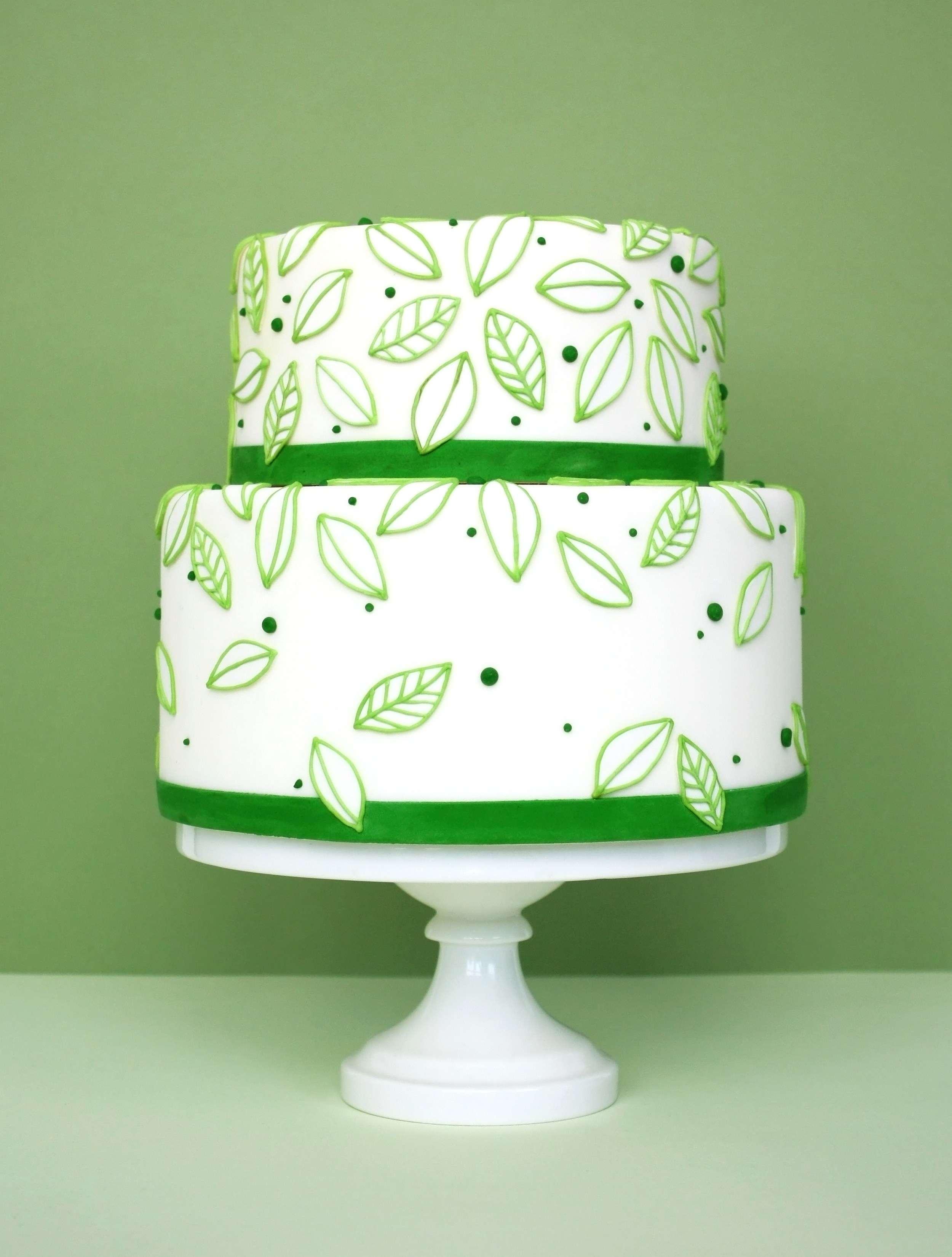 eatcakebemerry_modern_leaves_cake.jpg