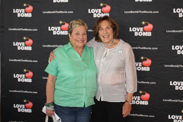Carol Gillen & Karen Shuffler at the Asheville Premier of Love Bomb