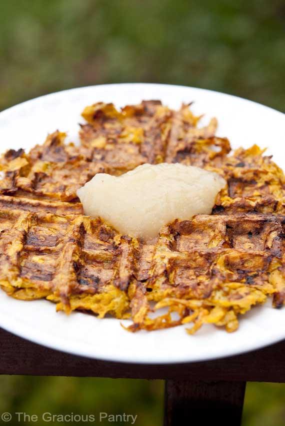 Yield:  5 waffles