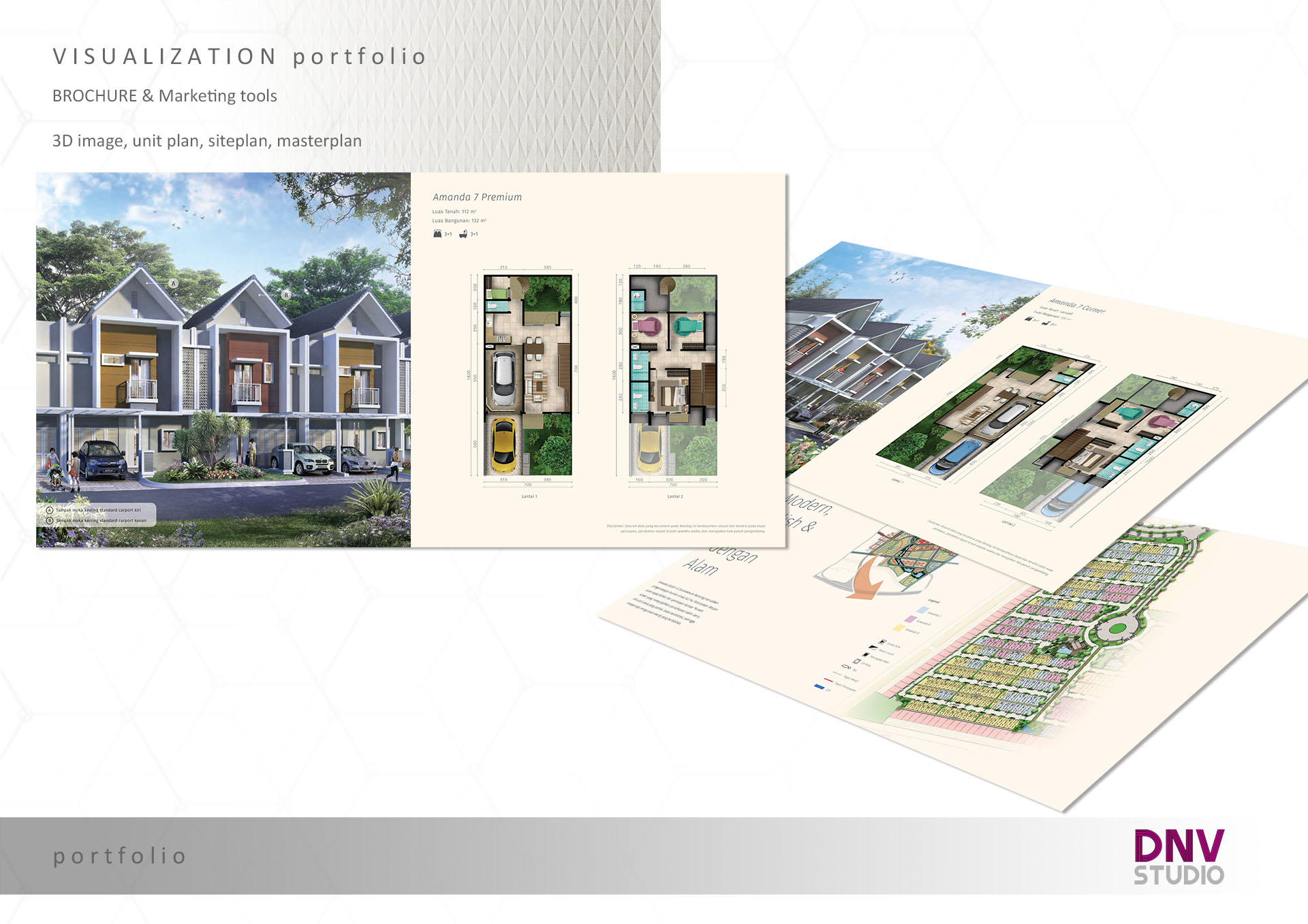 2D colored plan, siteplan, masterplan - 2D colored plan / siteplan / masterplan for property brochure4000 pixel on longest side, sent via email in PNG formatdata provided by client:* 2D model data [ PDF / CAD / SKP / MAX ]*color palet & mood referenceinclude 3 times revisionproduct delivery 2-5 work days after the data sent by client