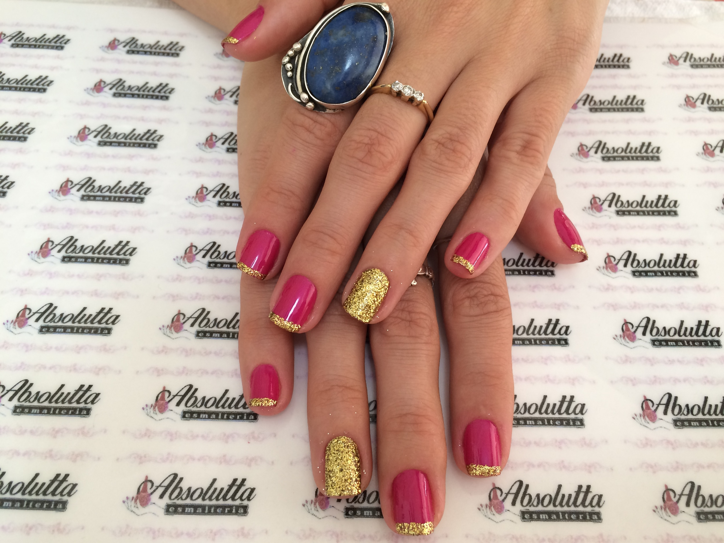 Nail art by Absolutta Esmalteria in Socorro, SP Brazil.