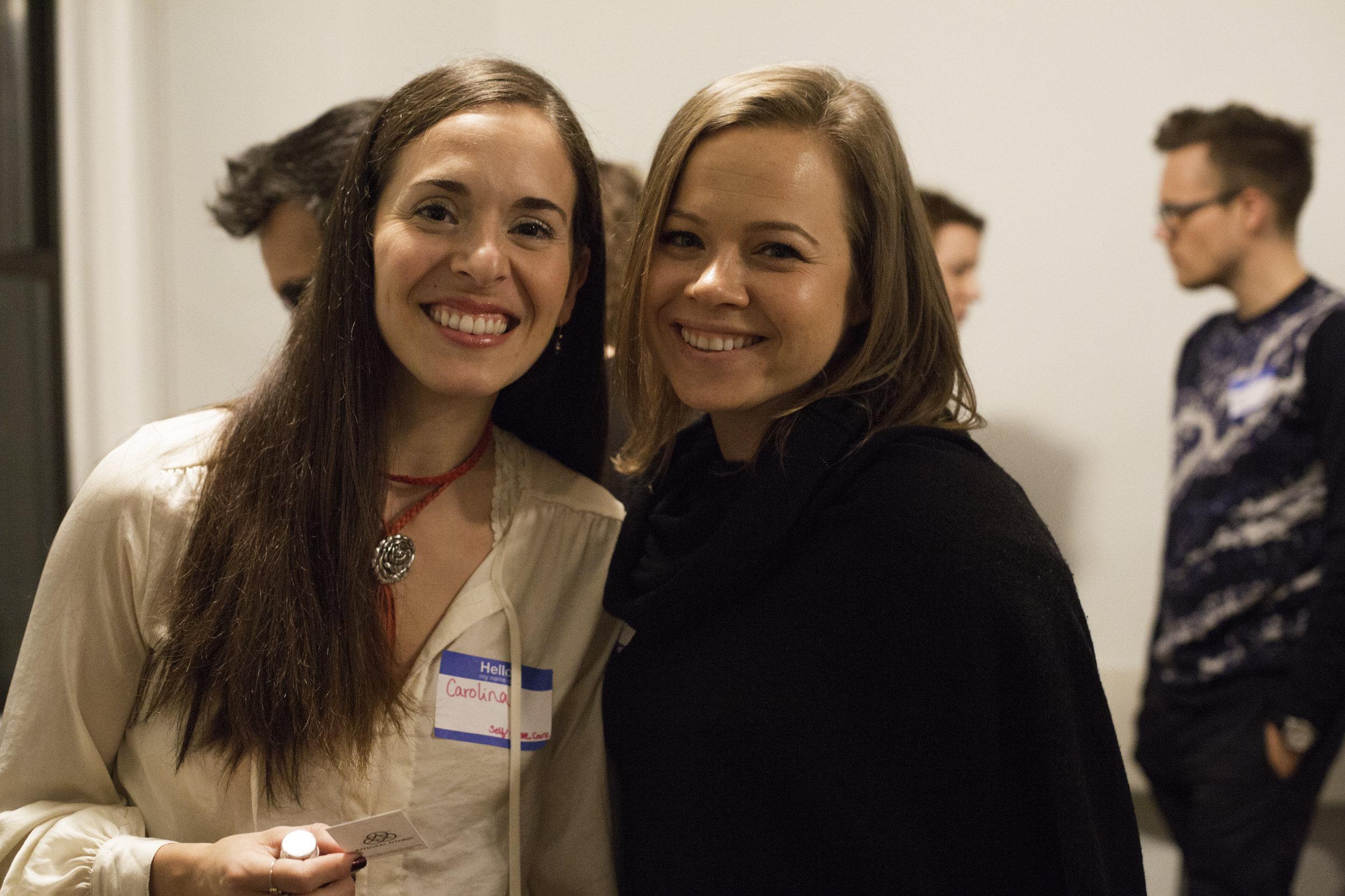 Here with Dasha the event organizer. Thanks Dasha!