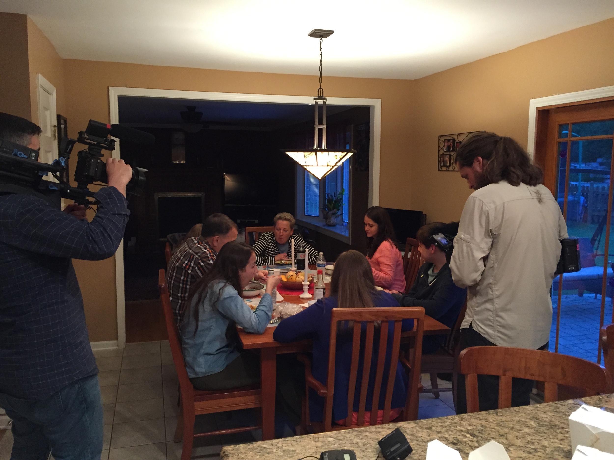 Palumbo Family dinner