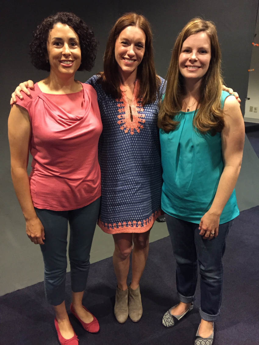 Dr. Julia Wilkins, Amanda Lukoff and Brandy Johanson Sebera
