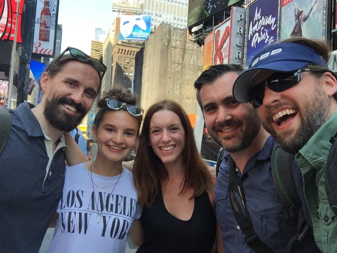 Spencer Clinton Parker, Zoe Rose, Amanda Lukoff, Danny Egan and Zac Halberd