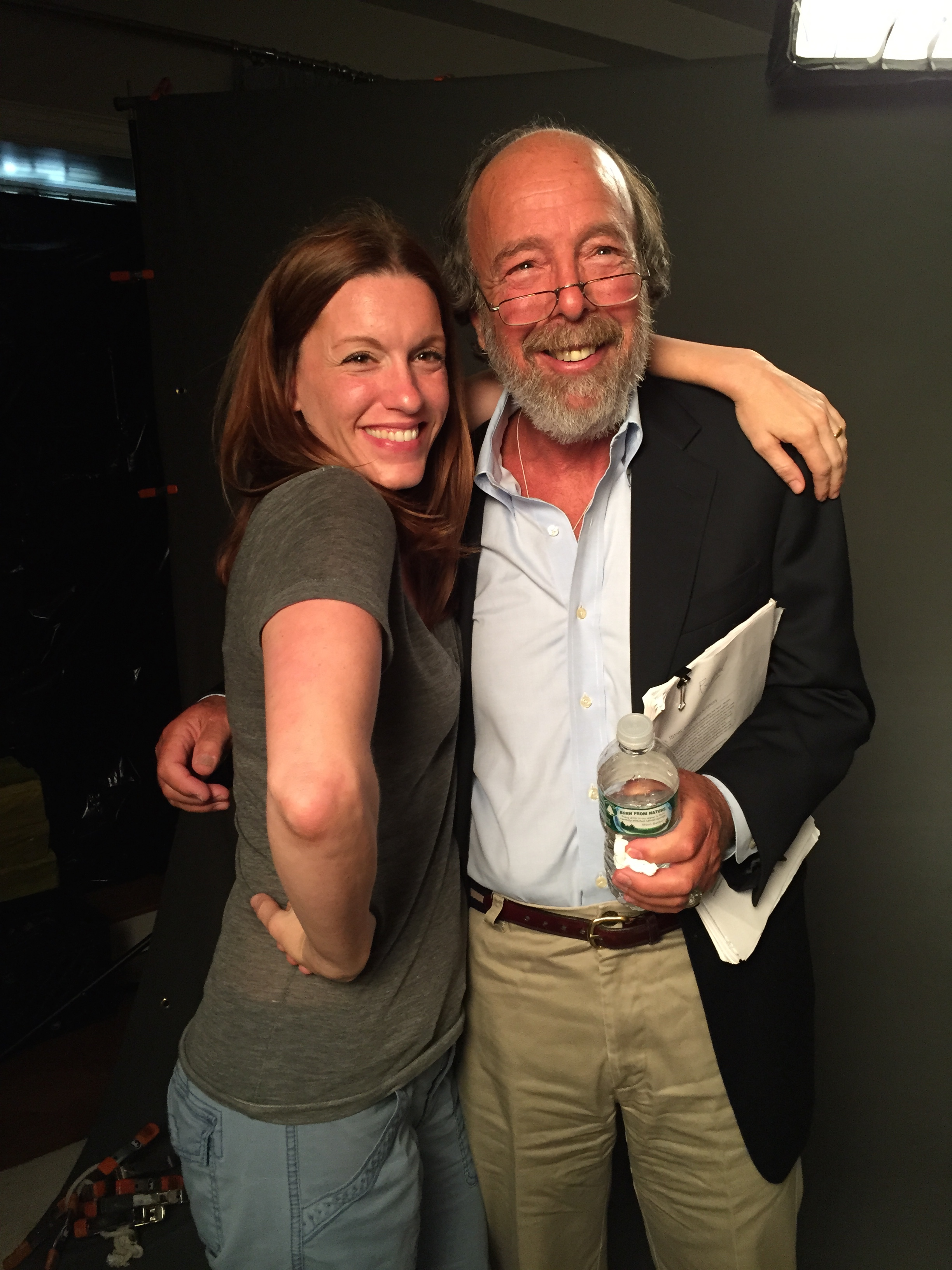 Amanda Lukoff and Dr. Gary Siperstein