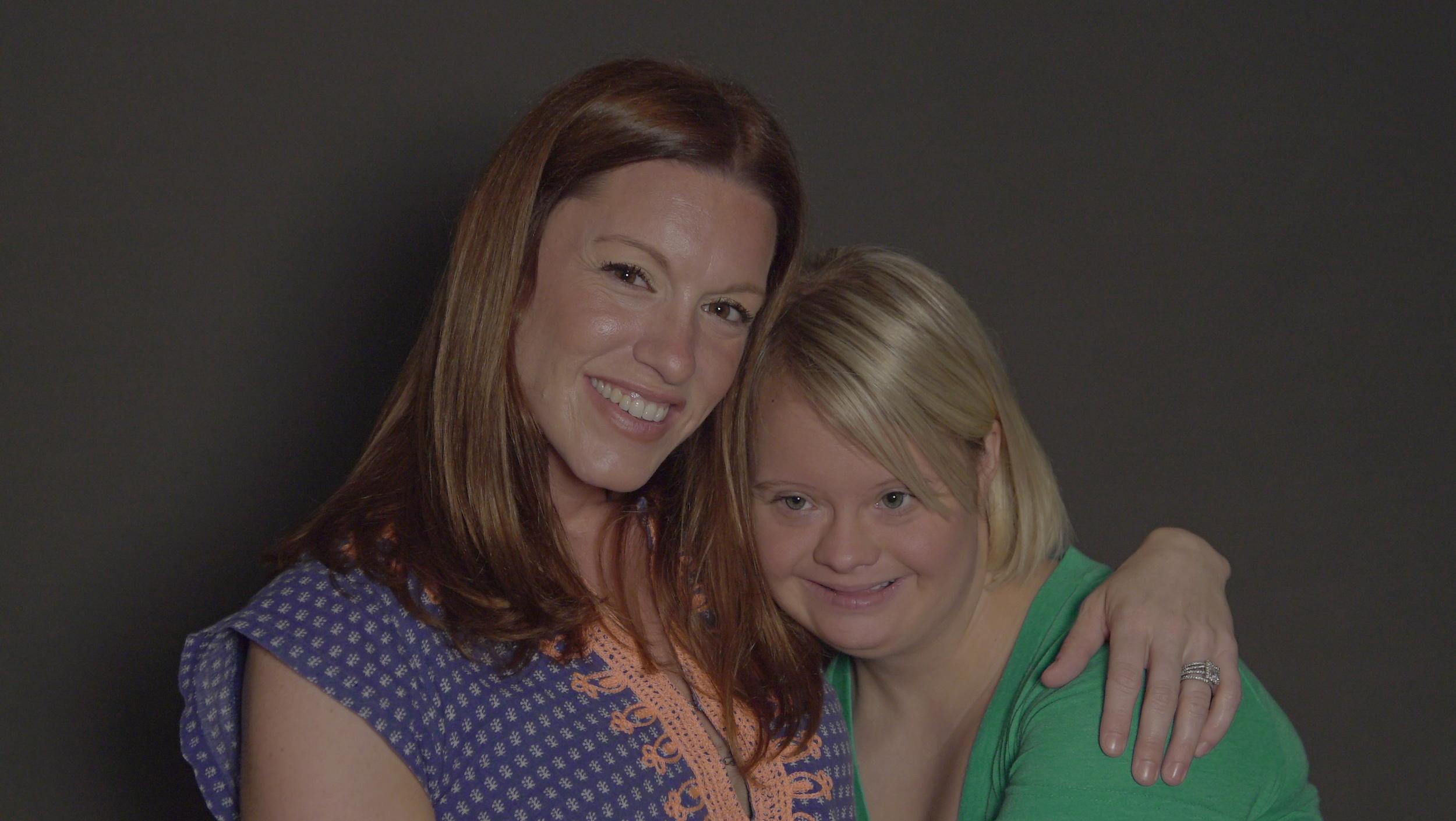Amanda Lukoff and Lauren Potter