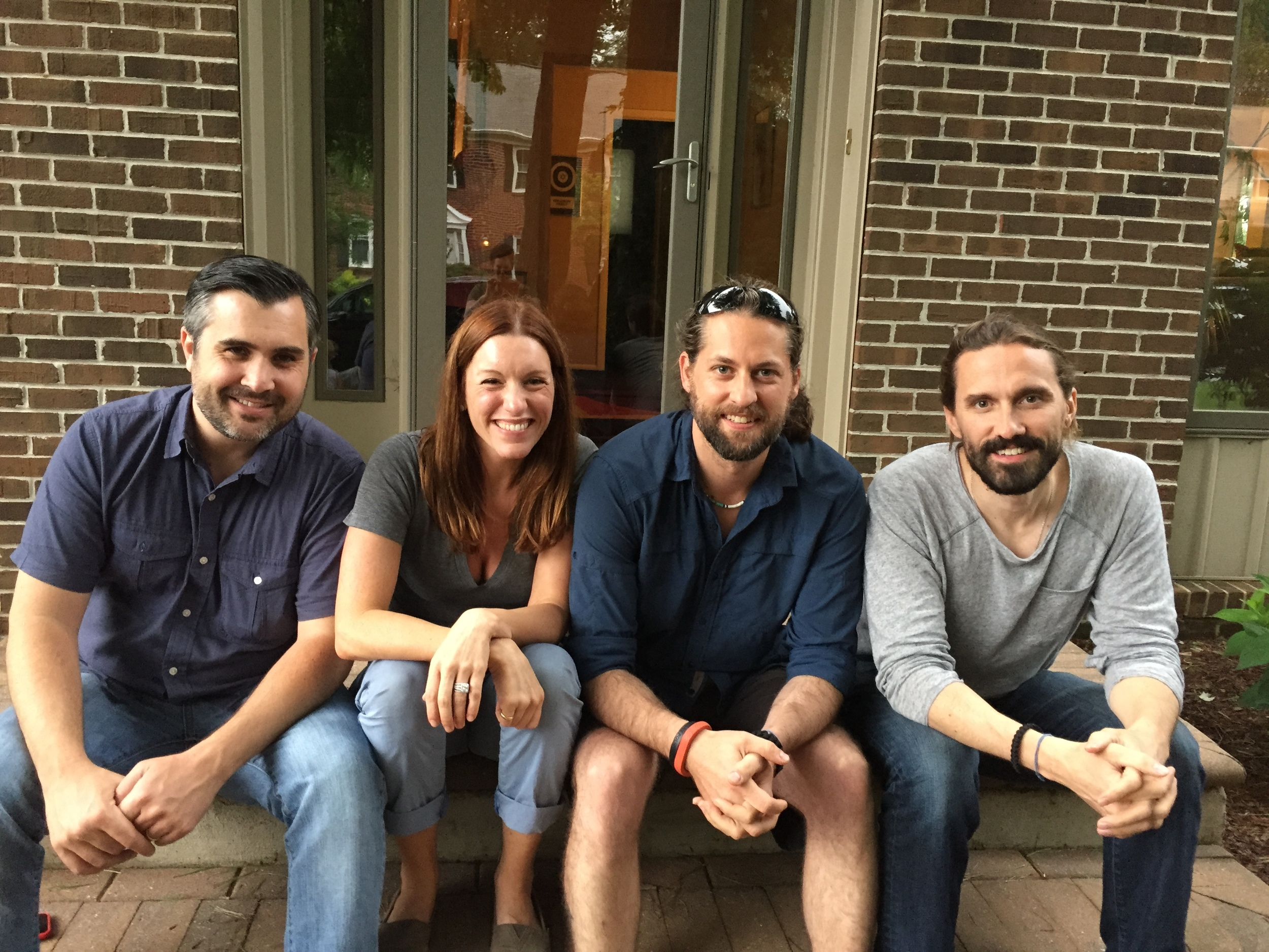 The Crew (Danny Egan, Amanda Lukoff, Zac Halberd and Spencer Clinton Parker)